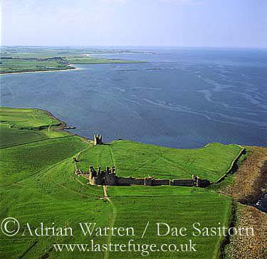 Dunstanburgh Castle, Northumberland, England