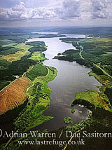 Kielder Reservoir and Kielder Forest, Northumberland, England