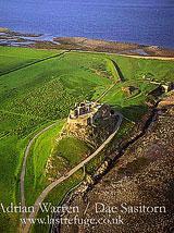 Lindisfarne Castle, Holy Island, Northumberland, England