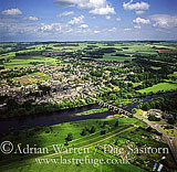 Corbridge and river Tyne, Northumberland, England