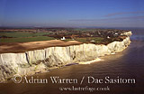 Dover White Cliffs, Kent, England