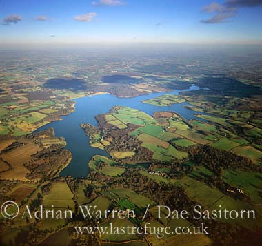 Bewl Water and Weald, East Sussex, England