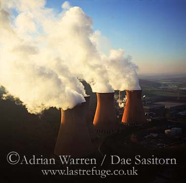 Cooling towers, Ironbridge Power Station, Shropshire, England