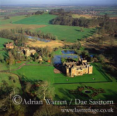 Compton Wynyates - stately home, Warwickshire, England
