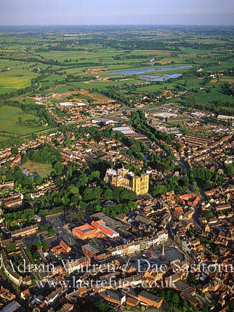Ripon Cathedral and its city, Yorkshire Dales, Yorkshire, England