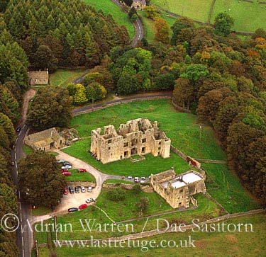 Barden Tower, Wharfedale, Yorkshire Dales, Yorkshire, England