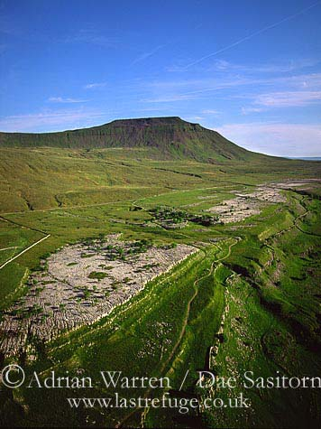 Ingleborough Peak, Yorkshire Dales, Yorkshire, England