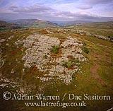 Limestone near Kilnsey, Wharfedale, Yorkshire dales, Yorkshire, England