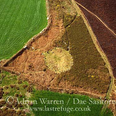 Lower Bostraz stone circle, Lower Bostraz, Cornwall, England
