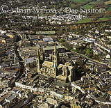 Truro Cathedral and city, Cornwall, England