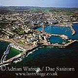 Penzance and Newlyn, Cornwall, England