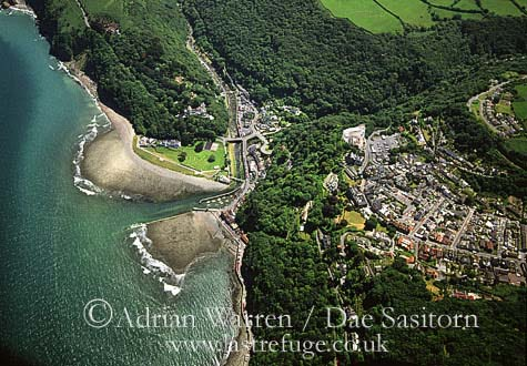 Lynton and Lynmouth, Devon, England