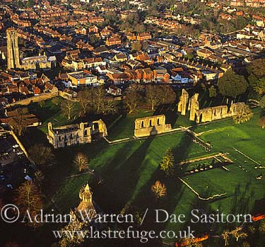 Glastonbury Abbey, Glastonbury, Somerset, England
