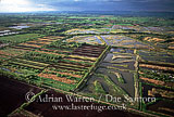 Peat Extraction Sites, Somerset Levels, Somerset, England