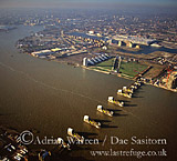 River Thames Barrier, London, England