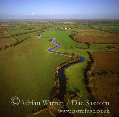 River Thames upstream from Lechlade, Gloucestershire, England