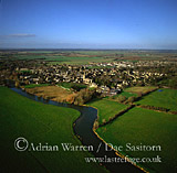 Lechlade and River Thames, Gloucestershire, England