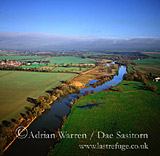 River Thames near North Stoke, Oxfordshire, England