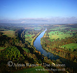 Goring Gap and River Thames, Berkshire/ Oxfordshire, England