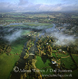 River Thames, Shiplake Weir, Berkshire / Oxfordshire, England