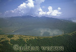 Aerials (aerial image) of Africa : Empakaai Crater Lake, Ngorongoro Conservation Area, Tanzania