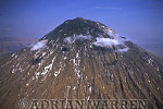 Aerials (aerial image) of Africa : Mount Lengai, African Rift Valley / Tanzania, 1987