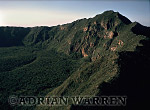 Aerials (aerial image) of Africa : Summit of MOUNT LONGONOT, African Rift Valley, Kenya, 1988