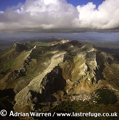 Aerials (Aerial Image) Of Africa: Morocco: Atlas Mountains Near Tetouan