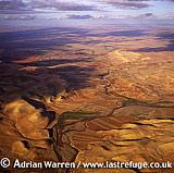 Aerials (Aerial Image) Of Africa: Morocco: Sahara Desert Near Anounfeg, North Of Agadir