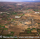 Aerials (Aerial Image) Of Africa: Morocco: Village Near Vasir, South Of Agadir