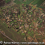 Aerials (Aerial Image) Of Africa: Morocco, Village East Of Rabat