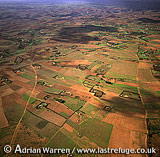 Aerials (Aerial Image) Of Africa: Morocco: Agriculture Near Foothills Of Atlas Mountains