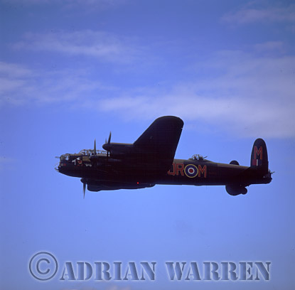 Military Airshow: Avro Lancaster B1 - Battle of Britain Memorial Flight, The Royal International Air Tattoo 2002, Fairford, Gloucestershire, England, UK