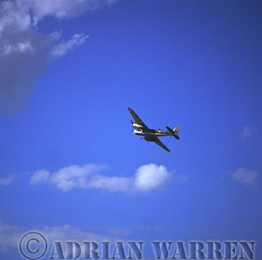Military Airshow: Bristol Blenheim IVT - The Aircraft Restoration Company, The Royal International Air Tattoo 2002, Fairford, Gloucestershire, England, UK