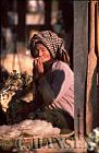 Woman smoking Cheroot, Mingin, Myanmar (formerly Burma)