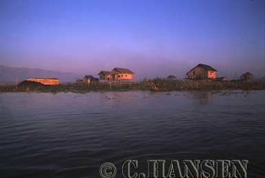 Rural Housing, Inle Lake, Myanmar (formerly Burma)
