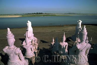 Settawya Paya, Mingin, Myanmar (formerly Burma)