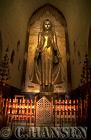 Buddha Statue, Ananda Pahto, Bagan, Myanmar (formerly Burma)