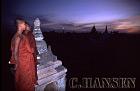Monks, Kyanzittha Umin, Bagan, Myanmar (formerly Burma)