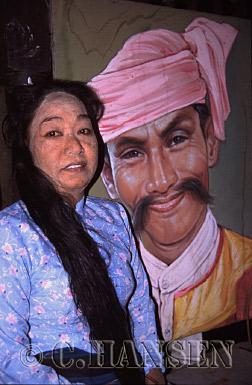 Ma Win Mar, Par Par Lay, Moustache Brothers, Mandalay, Myanmar (formerly Burma)