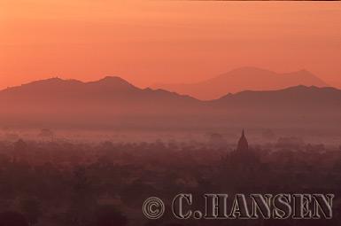 Temple landscape, Bagan, Myanmar (formerly Burma)