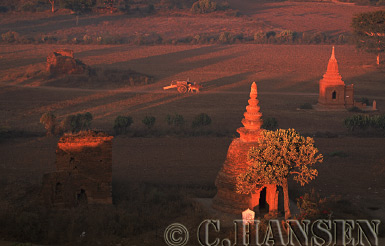Temples, Bagan, Myanmar (formerly Burma)