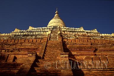 Shwesandaw Paya, Bagan, Myanmar (formerly Burma)