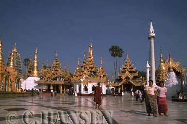Shwedagon Paya, Yangon (Rangoon), Myanmar (formerly Burma)