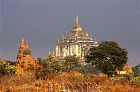Temple, Thatbyinnyu pahto, Bagan, Myanmar (formerly Burma)