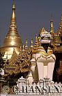 Shwedagon Paya (Current 1769/ Original 6th century), Bagan, Myanmar (formerly Burma)