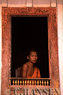 Buddhist Monk, Laung Probang, Laos