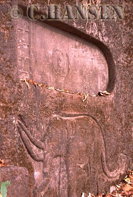 Footprint of Buddha, , Wat Phu, Champassak, Ancient Angkor, Laos