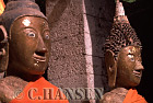 Buddha Statues, Wat Phu, Champassak, Ancient Angkor, Laos