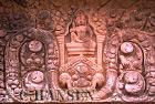 Bas-Reliefs, Wat Phu, Champassak, Ancient Angkor, Laos